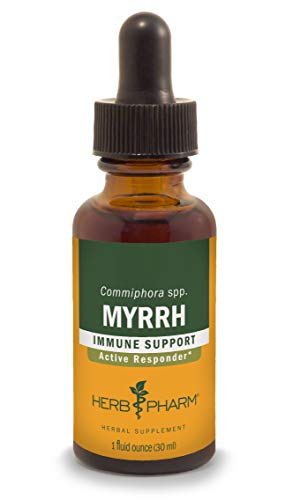 Herb Pharm Myrrh Liquid Extract for Immune System Support - 1 Ounce