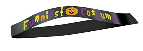 Funniest Costume Halloween Sash (Halloween Costume Winners)