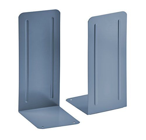 Acrimet Jumbo Premium Bookends 9'' (Blue Color) (1 Pair) by Acrimet