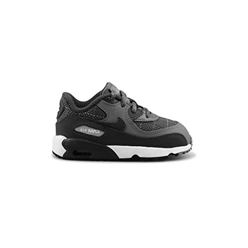 Nike Air Max 90 SE LTR (TD) Cool Grey Anthracite Wolf Grey 859561-001 (5c)