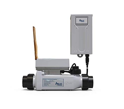 BLUE WORKS IntelliChlor Power Center for Salt Chlorine Generator Systems (US Version) and BLPT 60 Cell (520556) for 60K Gallon Pool with 1 Year Warranty