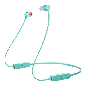 JBL Tune 165BT by Harman in-Ear Wireless Headphones with Dual Equalizer, 8-Hour Battery Life and Quick Charging (Teal)