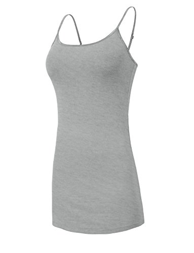 Womens 34 Top Strap J Jlwdr22 Dress Colors heathergray Tunic Fitted Basic LOVNY Spaghetti 100xqz5w