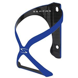Serfas Spyre Carbon Bicycle Water Bottle Cage, Blue
