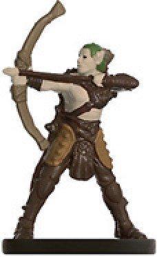 D & D Minis: Elf Archer # 6 - Dungeons of Dread