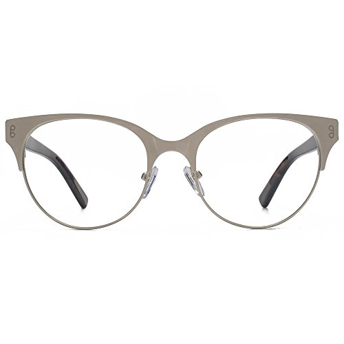 Hook LDN Pagode acier inoxydable Cateye lunettes en or HKS006-GLD clear
