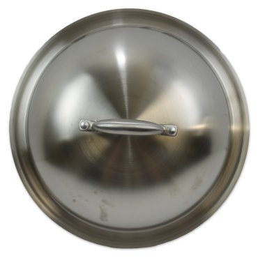 Kitchen Collection 13-Inch Stainless Steel Dome Cover ()