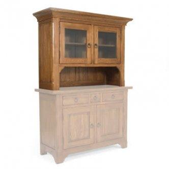 Zocalo Furniture Hartford Rustic Hutch HR015A