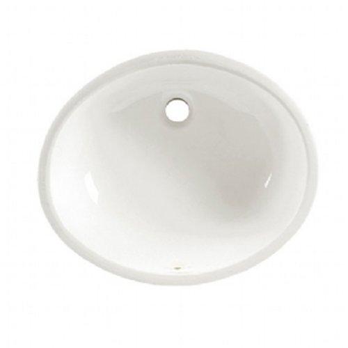 American Standard Ovalyn 17-Inch Basin Undercounter Bathroom Sink, White