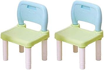 CTC Niños/aprendizaje conjunto mesa y una silla, casa/jardín de niños de plástico juego de mesa cuadrada, adecuado for jardines interiores y exteriores/Azul / 2 sillas: Amazon.es: Bricolaje y herramientas