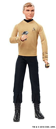 Captain Kirk Barbie Star Trek 50th Anniversary Action Figure