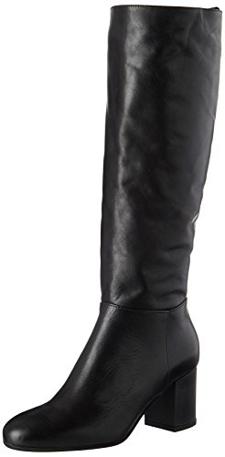 Mujer Botas Marc High Para 70814178201110 O'polo Boot black Schwarz Heel Long xwUaB8q
