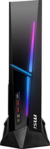 MSI MEG Trident X 10-1282US Computadora de escritorio para juegos de factor de forma pequeño, Intel Core i7-10700K, GeForce RTX 3070, memoria de 32GB, SSD de 1TB, WiFi 6, USB tipo C, Thunderbolt 3, VR-Ready, Windows 10 Home Adv