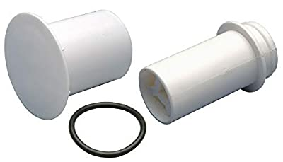 2-1/2' x 6-1/2' Urinal Drain For Use With Waterless Urinals- Pack of 5