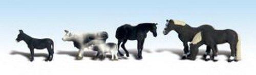 Woodland Scenics Ho Farm (Woodland Scenics HO Scale Scenic Accents Figures/Animal Set Farm Animals)