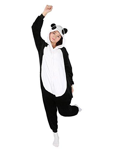da Sleepwear Notte Donna Très Carnevale Animale Costume Camicie Mailanda Nero Animale Chic Panda Pigiama Cosplay 8SqPR