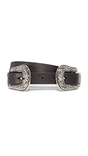 B-Low The Belt Women's Baby Bri Bri Belt, Black/Silver, Medium by B-Low the Belt