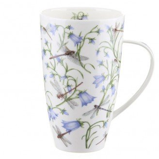 Dunoon Henley Fine China DOVEDALE HAREBELL Mug Cup 600ml 20.29 fl oz HAREBELL