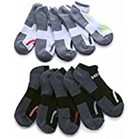 10-Pk. HEAD Mens Moisture-Wicking Socks