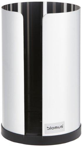 Blomus Toilet Roll Holder (Blomus Toilet Roll Holder, Holds 2 rolls, Cylinder)