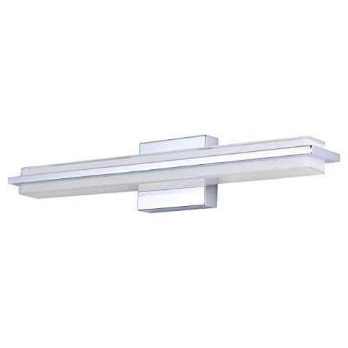 Dario 24 inch LED Bathroom Vanity Lights | Chrome Bathroom Light LL-WL927-2PC-24