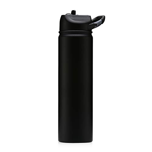 Seriously Ice Cold SIC Glacier Stainless Steel Tumbler (27 Oz, Tuff Matte Black) ()