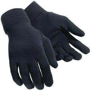 Tour Master Polar Fleece Glove Liner - Large/X-Large/Black by Tourmaster