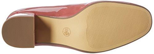 Jana 22302, Zapatos de Tacón para Mujer Rosa (Berry Patent 576)