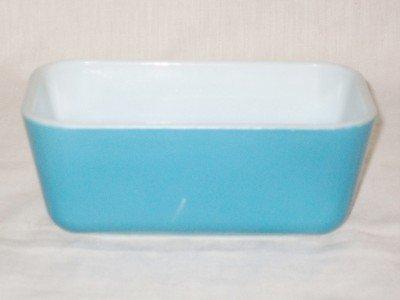 (Pyrex Vintage Refrigerator Dish 502 Blue)