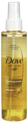 Dove Nourishing Oil Hair Therapy Detangler 6.1 - Shine Therapy Dove