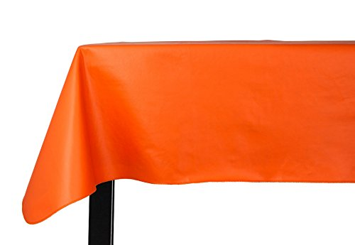 (Yourtablecloth Heavy Duty Vinyl Rectangle or Square Tablecloth - 6 Gauge Heavy Duty Tablecloth - Flannel Backed - Wipeable Tablecloth with Vivid Colors & Many Sizes 52 x 70)