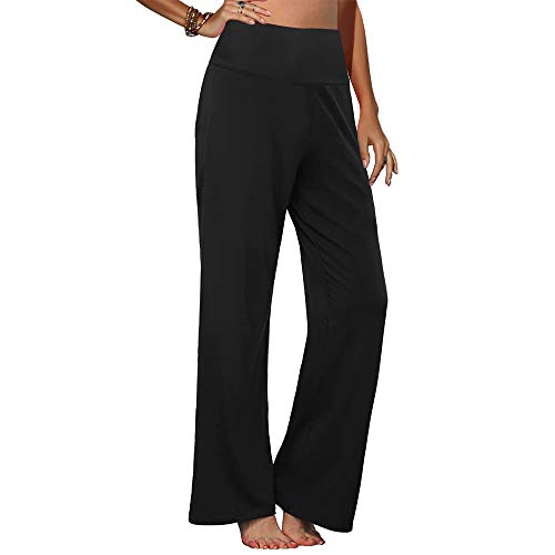 Arolina Women's Best Stretchy Wide Leg Palazzo Lounge Pants in USA 2021