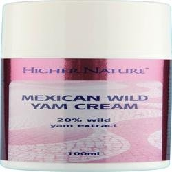 (Pack Of 2) Wild Yam Cream UK ONLY | HIGHER NATURE - UK ONLY