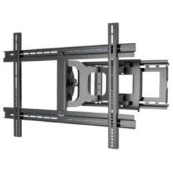 alphaline zlf109 b1 tv wall mount full motion for 32in 60in home audio theater. Black Bedroom Furniture Sets. Home Design Ideas