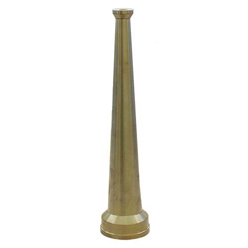 Brass 1 1/2'' Smooth Bore Fire Nozzle (NH)