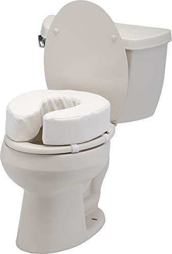 NOVA Toilet Seat Cushion and Riser, 4