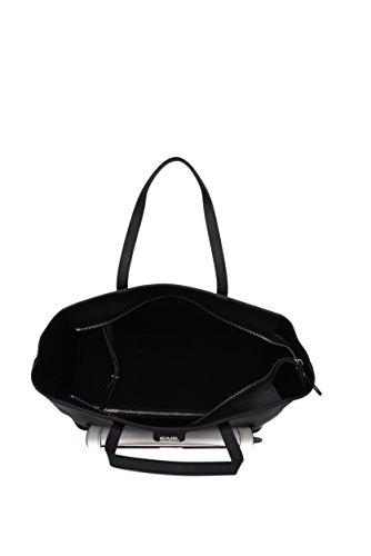 Black Women PVC 66KW3091 Handbags Lagerfeld Karl wEXq1pf