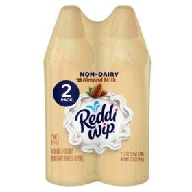 Expect More Reddi-wip Non-Dairy Almond Whipped Topping (6 oz, 2 ()