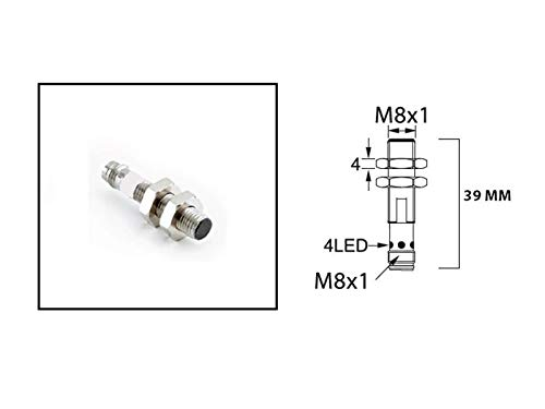 RADWELL VERIFIED SUBSTITUTE IFRM 08P17A3/S35L-SUB REPLACEMENT OF BAUMER ELECTRIC IFRM 08P17A3/S35L, PROXIMITY SENSOR - EXT RANGE PROX SENSOR, CYLINDRICAL SHIELDED, 8MM THREADED BODY, 2MM RANGE, PNP, N
