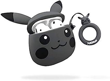 Amazon Com Cute Airpods Case Pikachu Airpods Case Akxomy