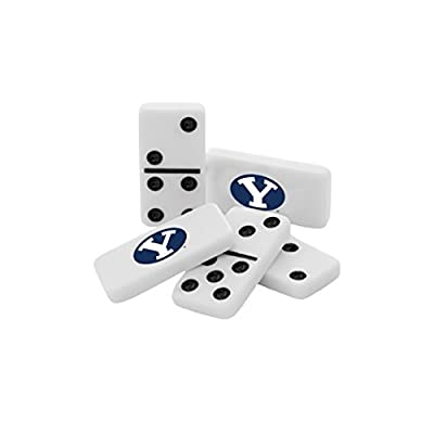 MasterPieces NCAA Brigham Young BYU Cougars, Collectible Double Six Dominoes, For Ages 6+: Toys & Games