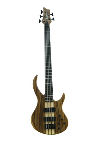 (ivy IBW-500 Bass Solid-Body Electric Guitar, Natural)