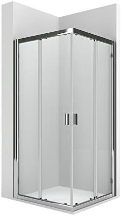 Roca AM13907012 - Lateral para mampara de ducha con una puerta corredera y un panel fijo. para instalar con otra l2 formando un ángulo recto.: Amazon.es: Bricolaje y herramientas
