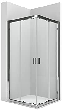 Roca AM13907512 - Lateral para mampara de ducha con una puerta corredera y un panel fijo. para instalar con otra l2 formando un ángulo recto.: Amazon.es: Bricolaje y herramientas