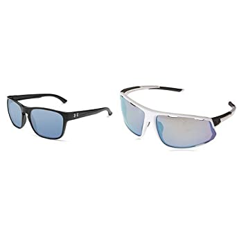 e76dd2d257e94 Amazon.com  Under Armour UA TUNED Sunglass Pack (55mm Recovery Glimpse +  74mm Baseball Strive)  Clothing