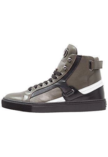 Versace-Collection-Hightop-Sneaker-Black-Army