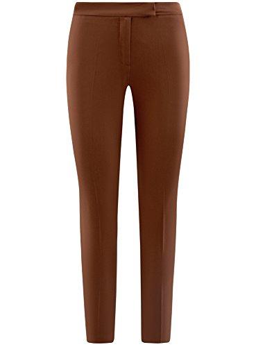 Donna Classici 3900n oodji Marrone Stretti Collection Pantaloni zaCxwZq