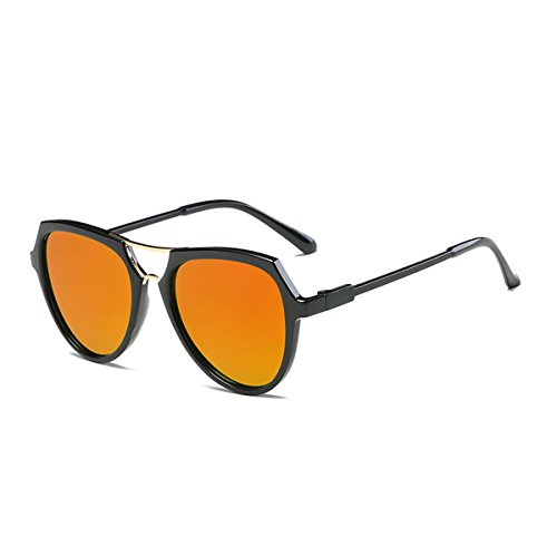 Gafas Packers de Back mujer para Yellow Orange sol U1p75qwzx7