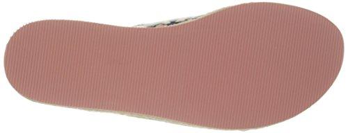 Nine West Amyas sintético sandalia de la plataforma Blue Mul