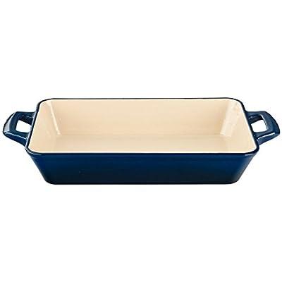 La Cuisine 3.9 Qt Enameled Cast Iron Deep Roasting Pan